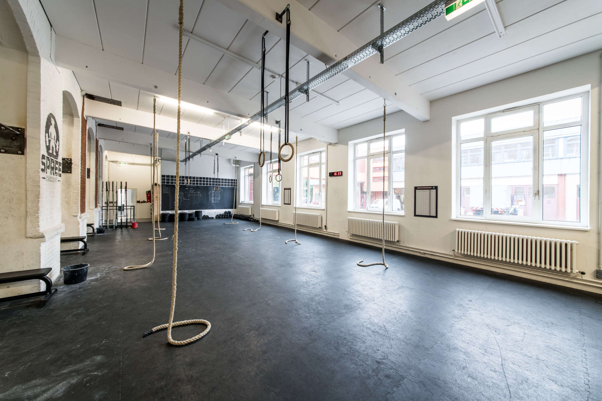 Spree CrossFit Box big Hall