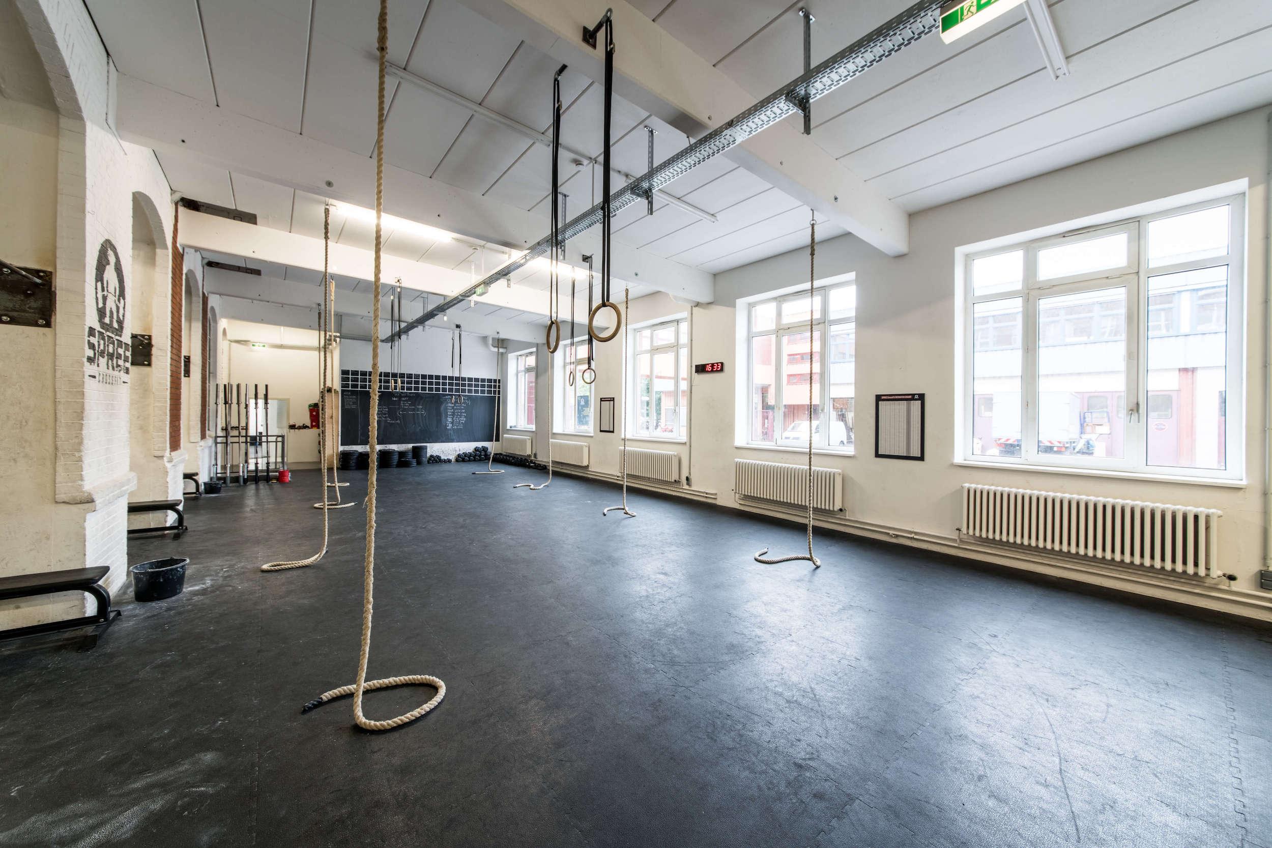 Spree CrossFit Box big Hall
