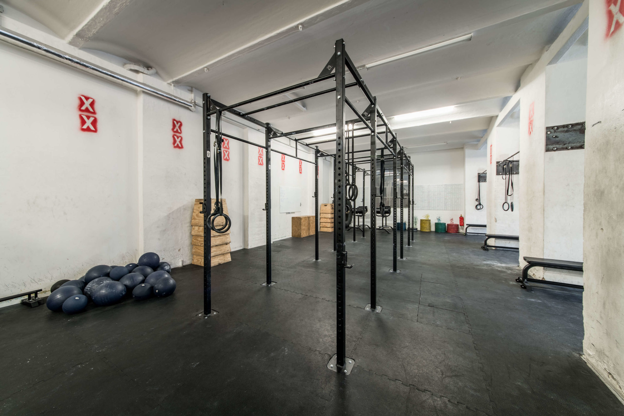 Spree CrossFit open gym