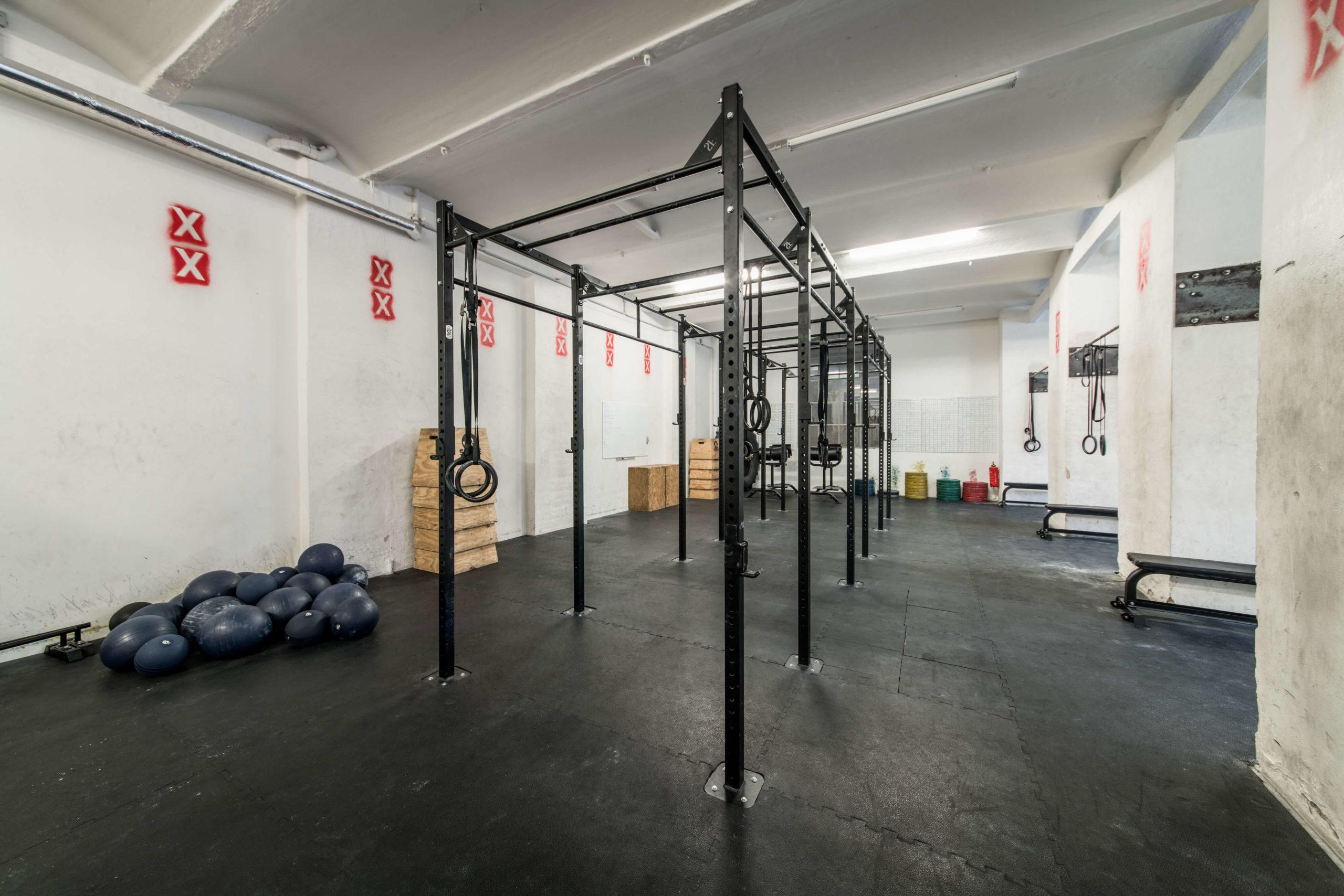 Spree CrossFit open gym